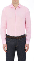 Piattelli MEN'S SLUB-WEAVE SHIRT