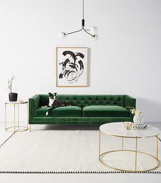 Anthropologie Mina Two-Cushion Sofa By in Assorted Size 94 in