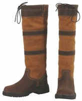 TuffRider LEXINGTON WATER PROOF TALL BOOT - CHOC/FAWN - CH
