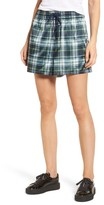 Puma Women's Fenty By Rihanna Plaid Shorts