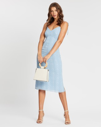 Atmos & Here Eloise Printed Midi Dress