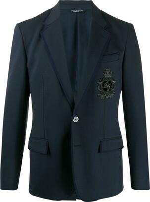 Dolce & Gabbana patch blazer