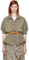 Etoile Isabel Marant Khaki Chambray Louise Shirt