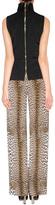 Ungaro Leopard Print Wide Leg Pants