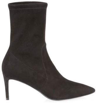 Stuart Weitzman Wren Suede Sock Boots