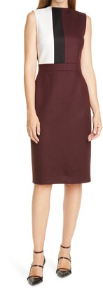 Judith & Charles Manila Colorblock Sheath Dress