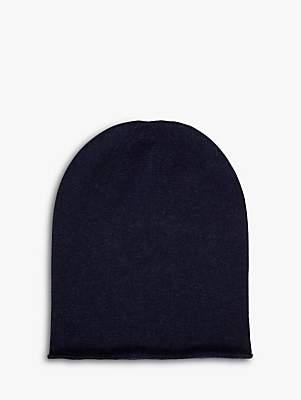 Brora Cashmere Slouchy Beanie Hat
