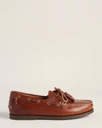 Polo Ralph Lauren Polo Tan Merton Leather Boat Shoes