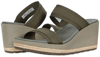 Merrell Kaiteri Wedge Slide (Black) Women's Wedge Shoes