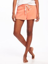 """Old Navy French Terry Lounge Shorts for Women (2"""")"""
