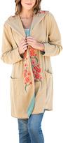 Paparazzi Khaki Floral Hooded Cardigan