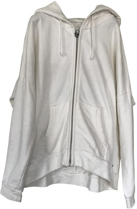 True Religion White Cotton Jacket for Women