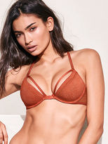 Very Sexy XO Lace Front-Close Unlined Demi Bra