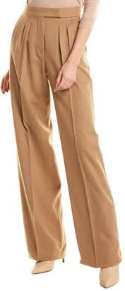 Max Mara Renon Camel Wool Trouser
