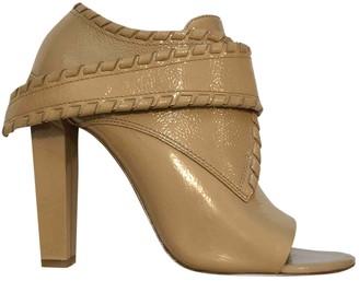 Alexander Wang Ecru Patent leather Sandals