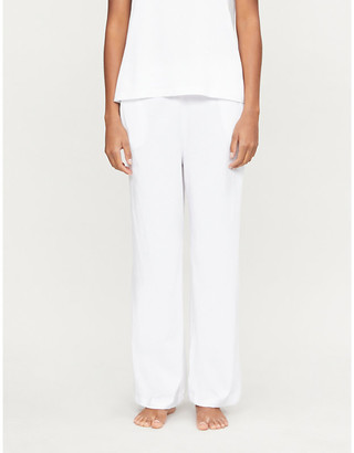 Selfridges Salma cotton-jersey pyjama bottoms