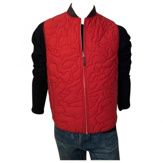 Louis Vuitton Red Synthetic Jackets