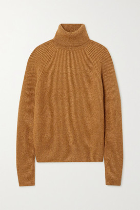 Joseph Ribbed-knit Turtleneck Sweater - Camel