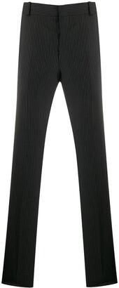 Alexander McQueen pinstripe tailored trousers