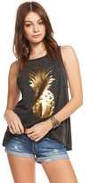 Chaser Golden Pineapple Tank in Union Vintage Black