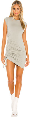 LAmade Indie Side Ruched Dress