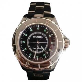 Chanel J12 Automatique Black Ceramic Watches