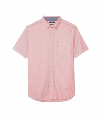 Nautica Men's Big & Tall Oxford Solid Button Down Shirt