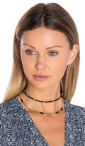 Ettika Rope Beaded Layered Choker