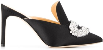 Giannico Daphne stiletto mules