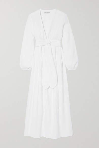 84a4d9bc474b Crinkle Gauze Maxi Dress - ShopStyle