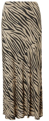 Baukjen Zuri Skirt In Sand & Black Zebra