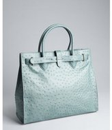 Furla marang ostrich-embossed leather 'Greta' large shopper tote