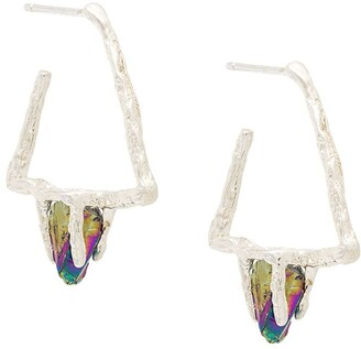 Niza Huang Delta Stone earrings