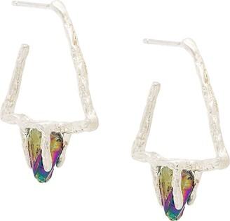Niza Huang Delta Stone earrings