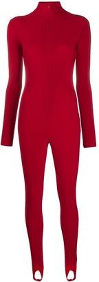 Atu Body Couture Stirrup-Hem Catsuit