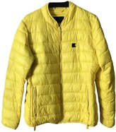 Karl Lagerfeld Paris Yellow Synthetic Coats