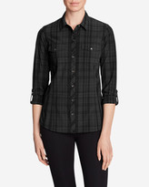 Eddie Bauer Women's Departure Long-Sleeve Shirt - Plaid