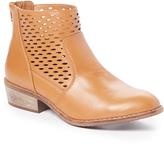 Wild Diva Chestnut Mojave Ankle Boot