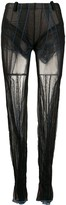Y/Project Sheer Skinny-Fit Trousers