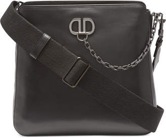 DKNY Linton Leather Messenger