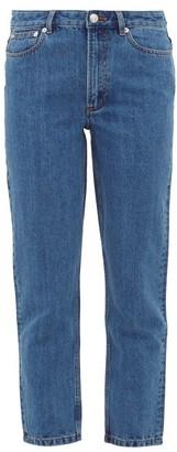 A.P.C. 80s Straight-leg Jeans - Womens - Denim