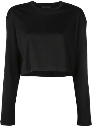 Wardrobe.Nyc Release 03 long sleeve crop top