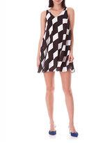 Sam Edelman Colorblock Trapeze Dress
