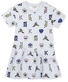 Kenzo Girls' Printed Dress - Big Kid