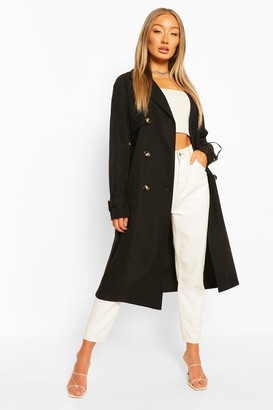 boohoo Utility Pocket Trench Coat