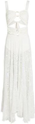 PatBO Lace Cut-Out Maxi Dress