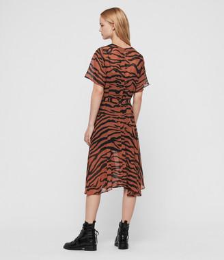 AllSaints Enki Zephyr Dress