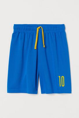 H&M Soccer Shorts - Blue