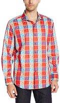 Robert Graham Men's Jigsaw L/s Woven Shirt