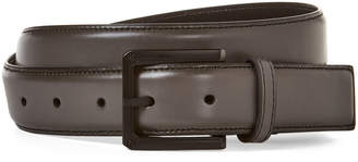Kenneth Cole Reaction Grey Faux Leather Belt